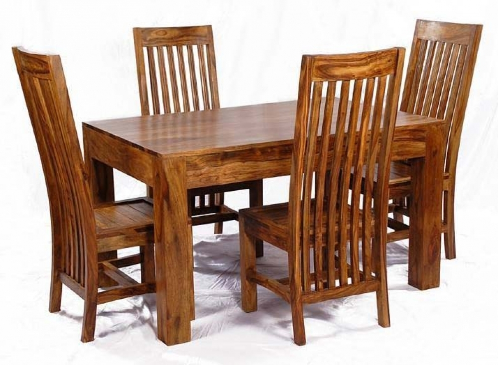 Sheesham Wood Dining Table Within Sheesham Dining Tables (Image 18 of 25)