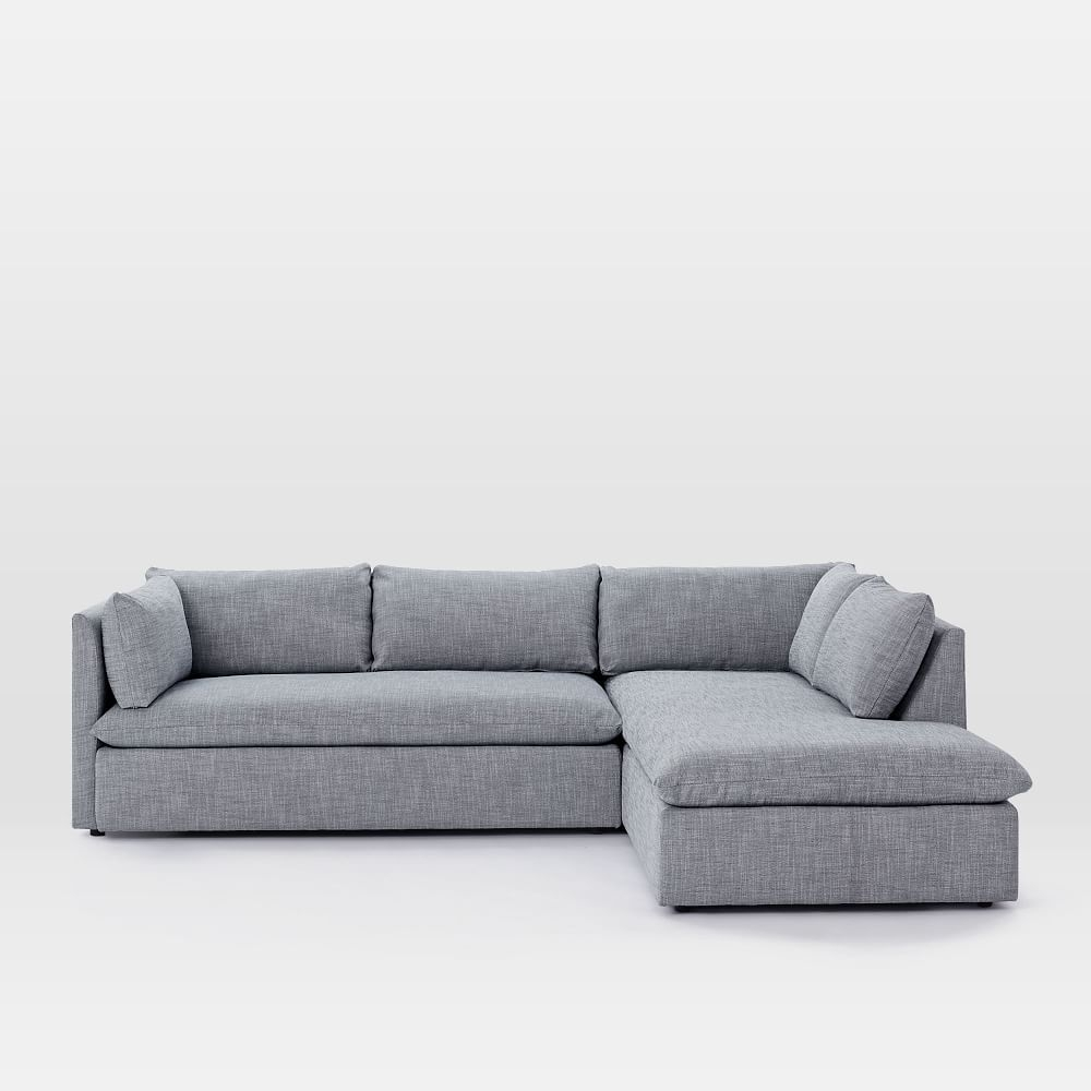 Shelter 2 Piece Terminal Chaise Sectional | Pinterest | Living Rooms For Mcculla Sofa Sectionals With Reversible Chaise (View 10 of 25)