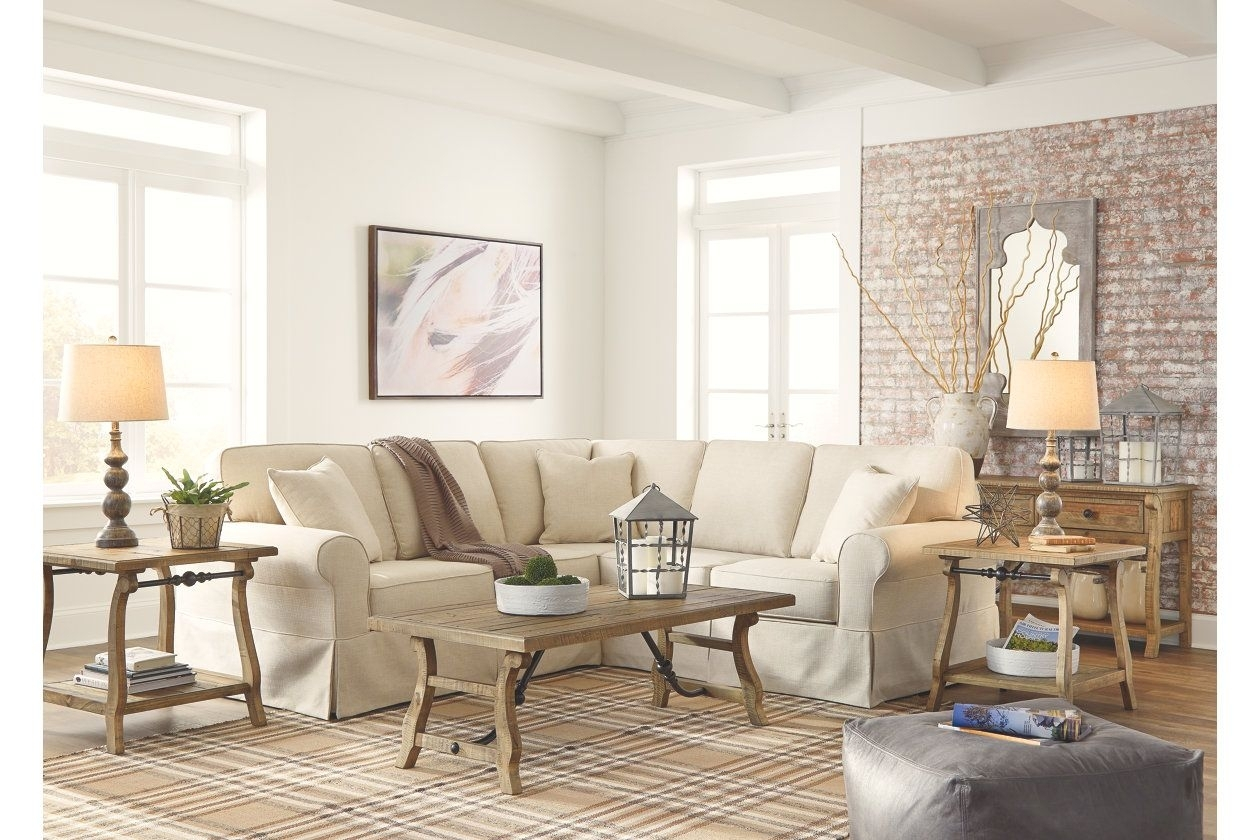 Shermyla 2 Piece Sectional | Ashley Furniture Homestore | New Home With Regard To Turdur 2 Piece Sectionals With Laf Loveseat (Image 21 of 25)