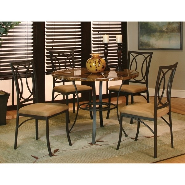 Shop Art Van Kaden 5 Piece Dining Set – Free Shipping Today With Regard To Caden 7 Piece Dining Sets With Upholstered Side Chair (Image 17 of 25)
