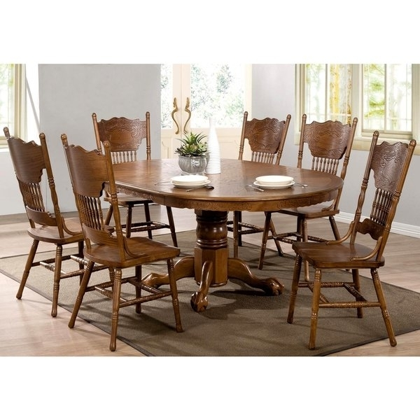 Shop Bologna Windsor Country Dining Set – Free Shipping Today Pertaining To Country Dining Tables (Image 19 of 25)