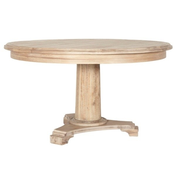 Shop Brittany Wood 54 Inch Round Dining Table – Free Shipping Today Pertaining To Brittany Dining Tables (Image 25 of 25)