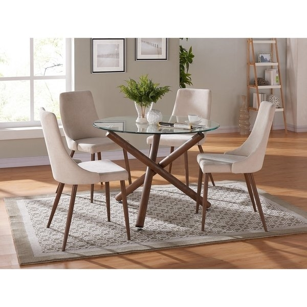 Shop Cora Dining Chair Set Of 2 – Free Shipping Today – Overstock With Regard To Cora Dining Tables (View 2 of 25)