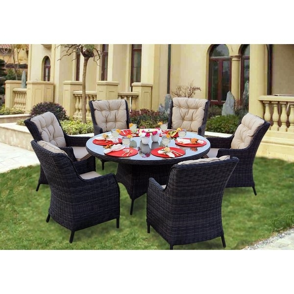 Featured Image of Valencia 60 Inch Round Dining Tables