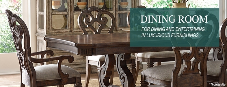Shop Dining Room Furniture – Chairs, Tables & Cabinets With Regard To Weaver Dark 7 Piece Dining Sets With Alexa White Side Chairs (Image 19 of 25)