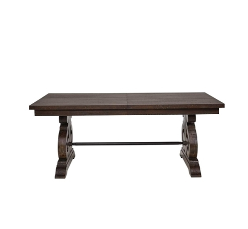Shop Dining Room Tables | Badcock &more Inside Valencia 72 Inch Extension Trestle Dining Tables (View 4 of 25)