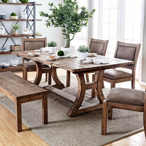 Featured Photo of Rustic Dining Tables