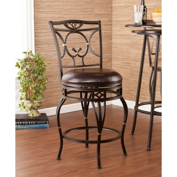 Shop Harper Blvd Bowerton Swivel Counter Stool – Free Shipping Today Within Harper 5 Piece Counter Sets (Image 19 of 25)