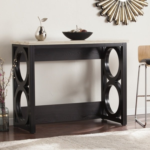 Shop Harper Blvd Renate Faux Marble Counter Height Console/ Dining Inside Harper 5 Piece Counter Sets (View 20 of 25)