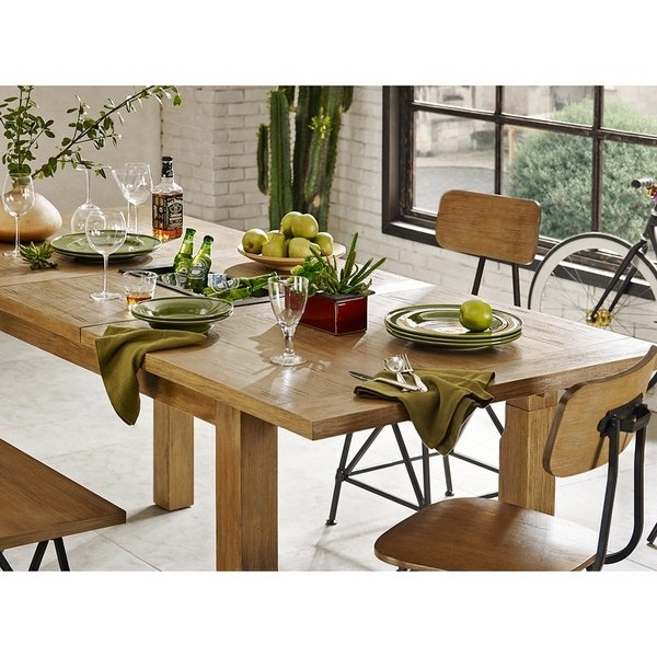 Shop Ink+Ivy Cooper Natural Dining/ Gathering Table – Free Shipping Throughout Cooper Dining Tables (Image 23 of 25)