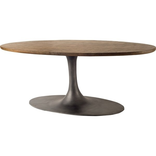 Shop Mercana Mcleod Dark Brown Mango Wood Top And Iron Base Dining Intended For Mango Wood/iron Dining Tables (View 20 of 25)