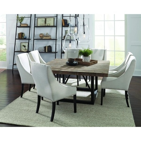 Shop Mia Reclaimed Wood 60 Inch Square Dining Tablekosas Home With Regard To Square Dining Tables (Image 9 of 25)