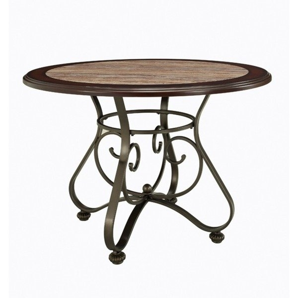 Shop Powell Bradford Dining Table – Bronze – On Sale – Free Shipping Within Bradford Dining Tables (View 7 of 25)