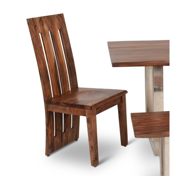 Latest Dining Chairs: 2019 Latest Sheesham Dining Chairs