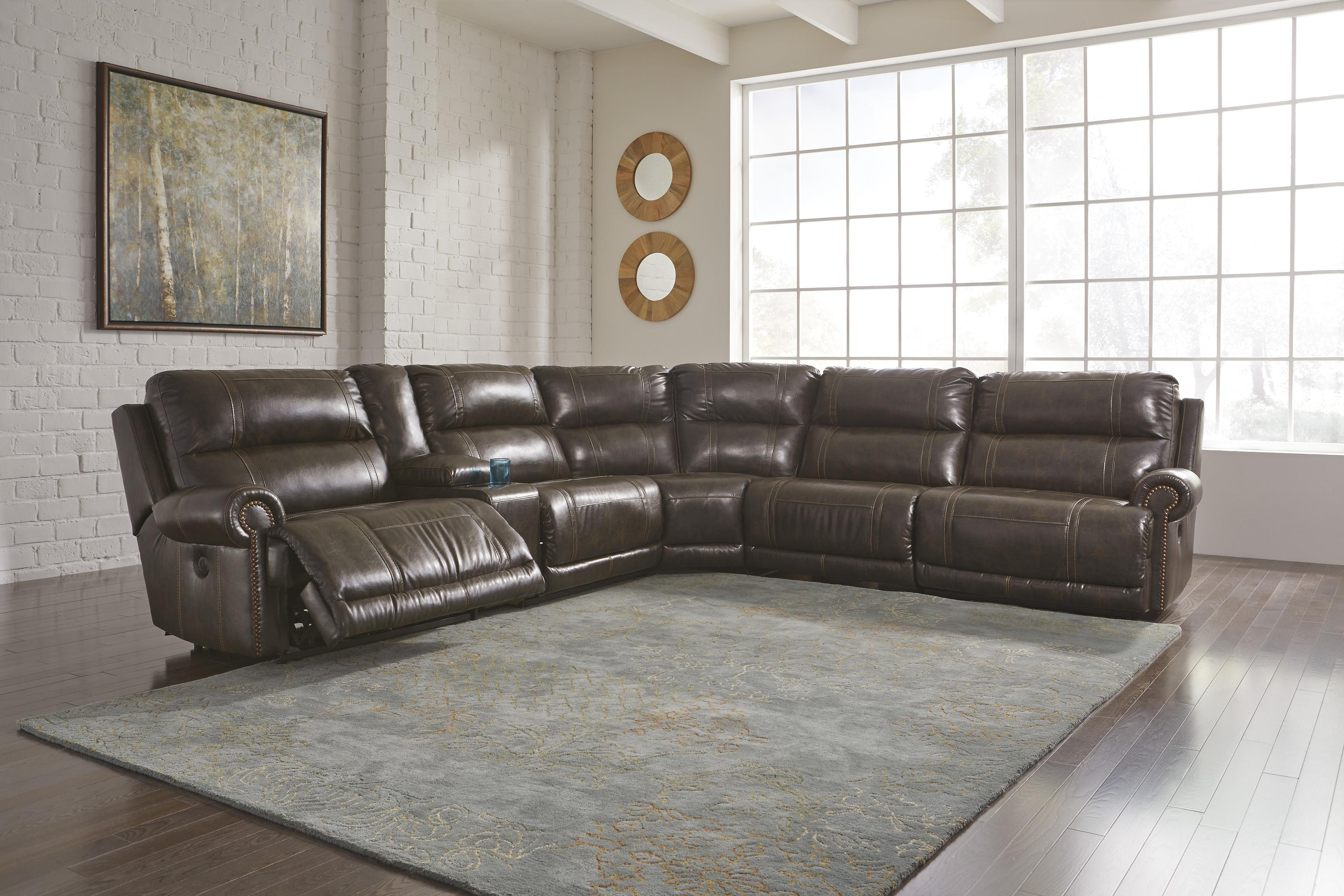 Shop Sectionals | Wolf And Gardiner Wolf Furniture Within Jackson 6 Piece Power Reclining Sectionals With  Sleeper (Image 23 of 25)