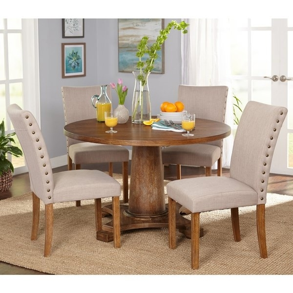 Shop Simple Living 5 Piece Atwood Dining Set – Free Shipping Today Intended For Harper 5 Piece Counter Sets (Image 25 of 25)