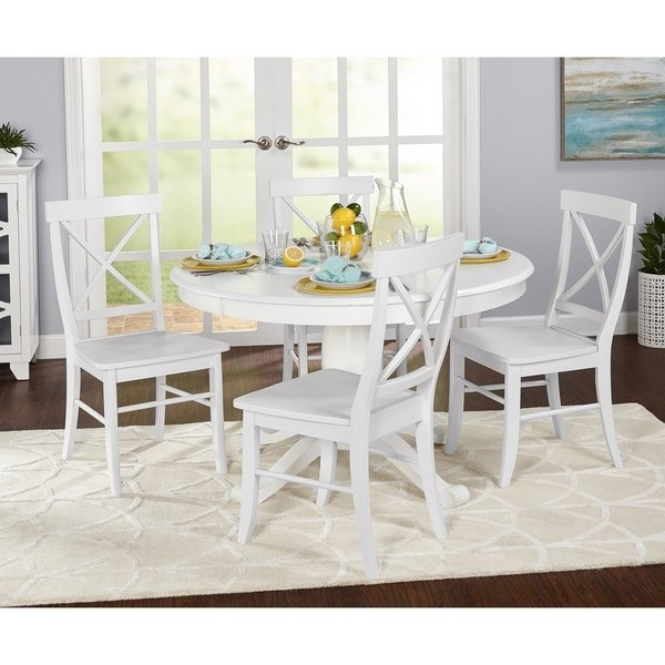 Shop Simple Living 5 Piece Dawson Dining Set – Free Shipping Today In Dawson Dining Tables (Image 24 of 25)