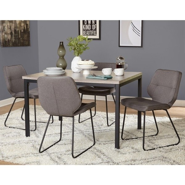 Shop Simple Living 5 Piece Kaden Dining Set – Free Shipping Today With Regard To Caden 6 Piece Rectangle Dining Sets (View 4 of 25)