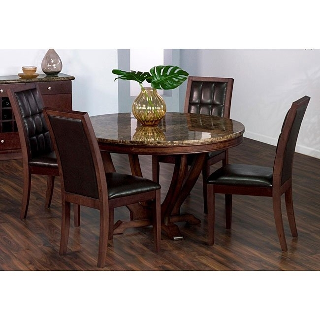 Shop Solid Marble Dining Table – Free Shipping Today – Overstock Inside Solid Marble Dining Tables (View 12 of 25)