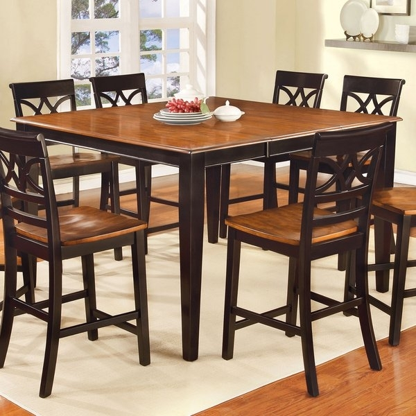 Shop The Gray Barn Epona Two Tone Counter Height Table – On Sale With Regard To Candice Ii 6 Piece Extension Rectangle Dining Sets (Image 15 of 25)
