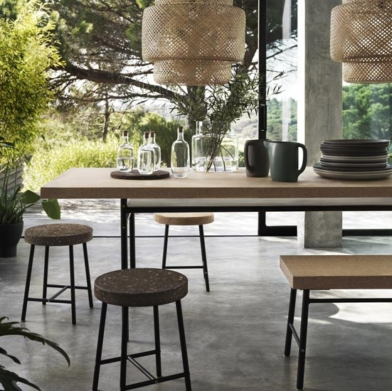 Shop The Trend: Cork | Ideal Home Pertaining To Cork Dining Tables (View 5 of 25)
