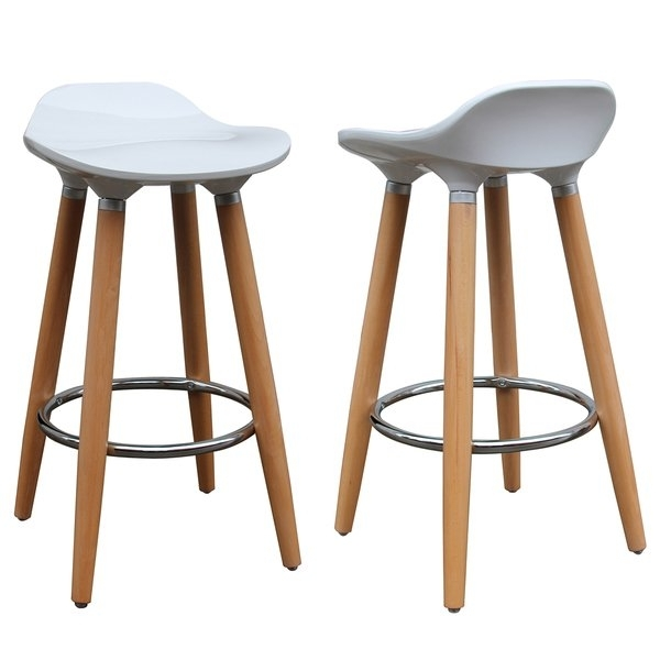Shop Trex 26 Inch Counter Stool (Set Of 2) – Free Shipping Today Intended For Laurent 7 Piece Counter Sets With Wood Counterstools (Image 20 of 25)