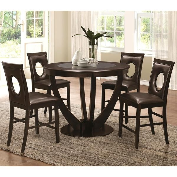 Featured Photo of Valencia 5 Piece Counter Sets With Counterstool