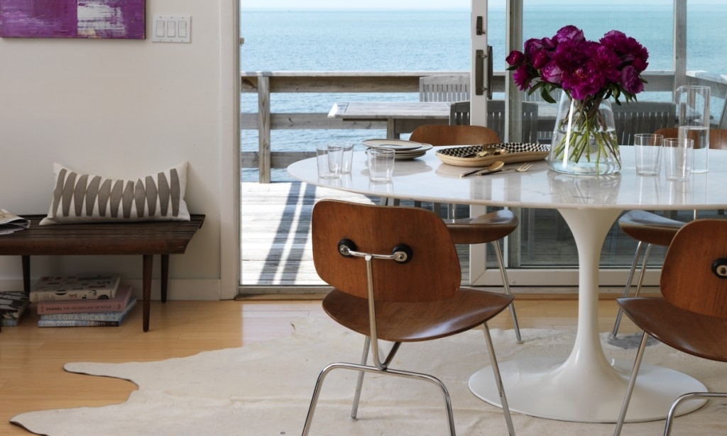 Shore Shack Chic: Welcome To Design Guru Christiane Lemieux's With Bale 7 Piece Dining Sets With Dom Side Chairs (Image 23 of 25)