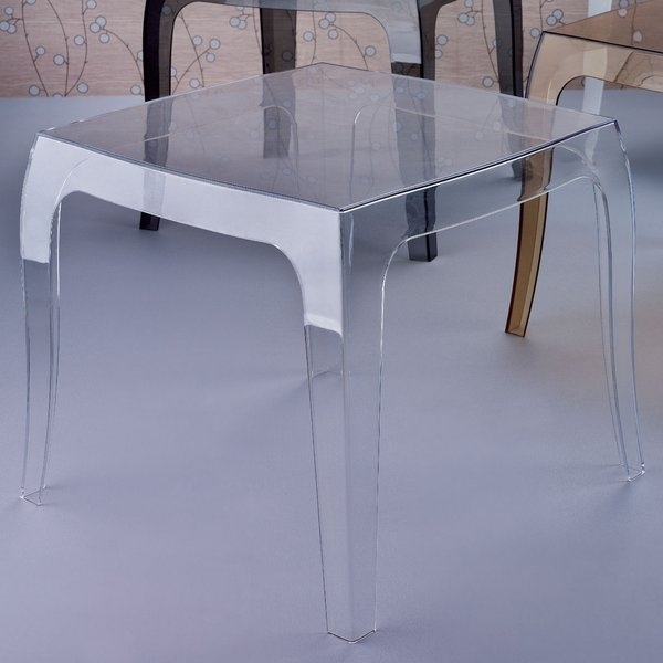 Side Table With Umbrella Hole | Wayfair Regarding Helms 6 Piece Rectangle Dining Sets With Side Chairs (View 20 of 25)