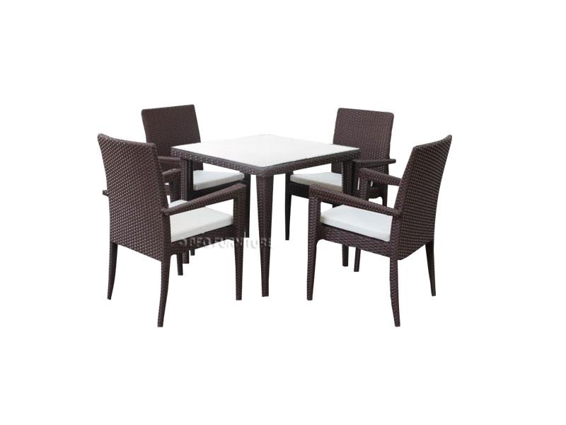 Sienna Patio Dining Set   Outdoor Furniture – Bfg Furniture Intended For Outdoor Sienna Dining Tables (Image 21 of 25)