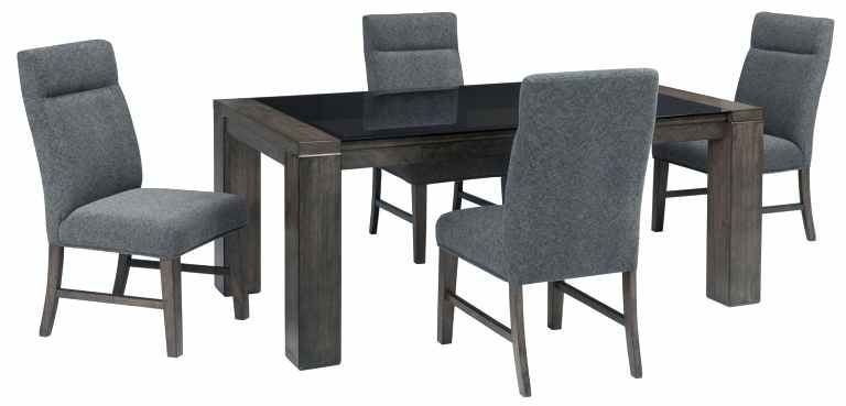 Signature Designdining Room Dining Set Ashley Dining Chairs Within Hyland 5 Piece Counter Sets With Stools (Image 25 of 25)