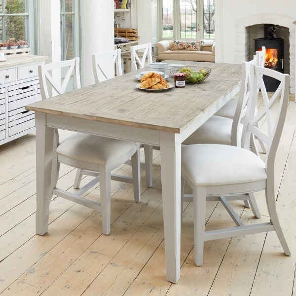 Signature Grey Extending Dining Table With Six Chairs Within Dining Tables And Six Chairs (View 22 of 25)