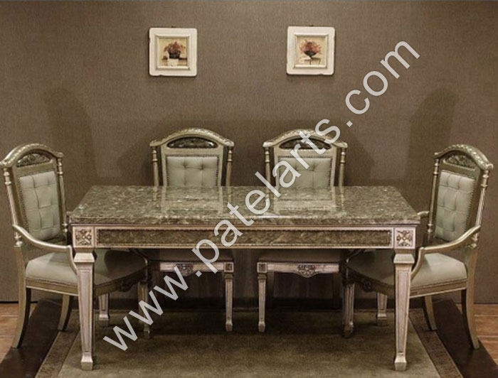 Silver Dining Set, Dining Table, Silver Dining Sets, Manufacturers Pertaining To Royal Dining Tables (View 21 of 25)