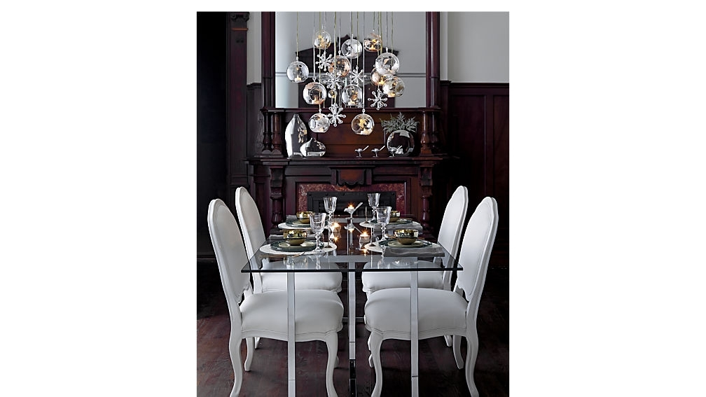 "Silverado 72"" Chrome Dining Table + Reviews 