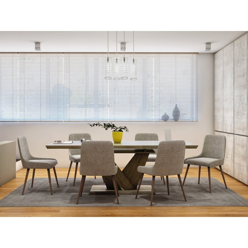 Simmers 7 Piece Dining Set | Allmodern Within Walden 7 Piece Extension Dining Sets (View 13 of 25)