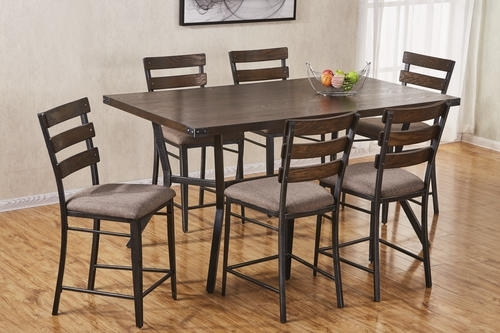 Simmons™ Hudson 7 Piece Counter Height Dining Set At Menards® For Hudson Dining Tables And Chairs (Image 25 of 25)