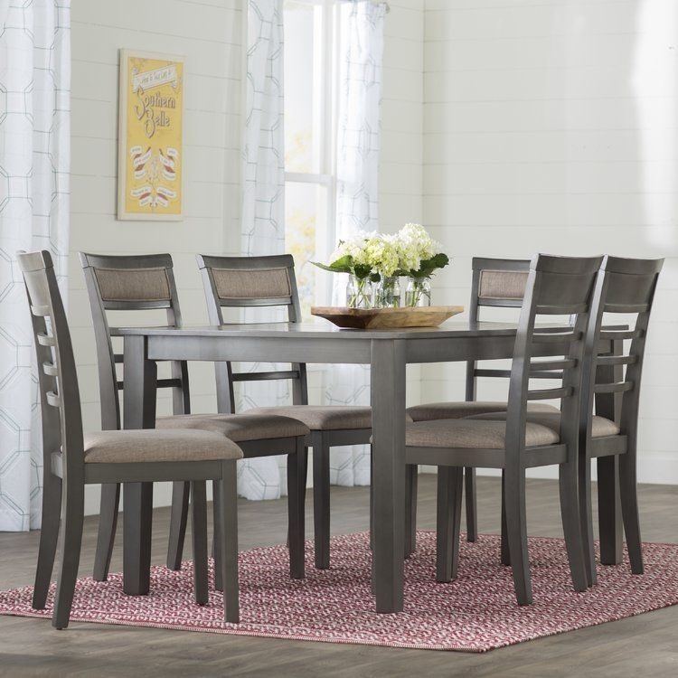 Simple Living Farmhouse 5 Or 7 Piece Oak (Brown) Dining Se Inside Rocco 7 Piece Extension Dining Sets (View 12 of 25)
