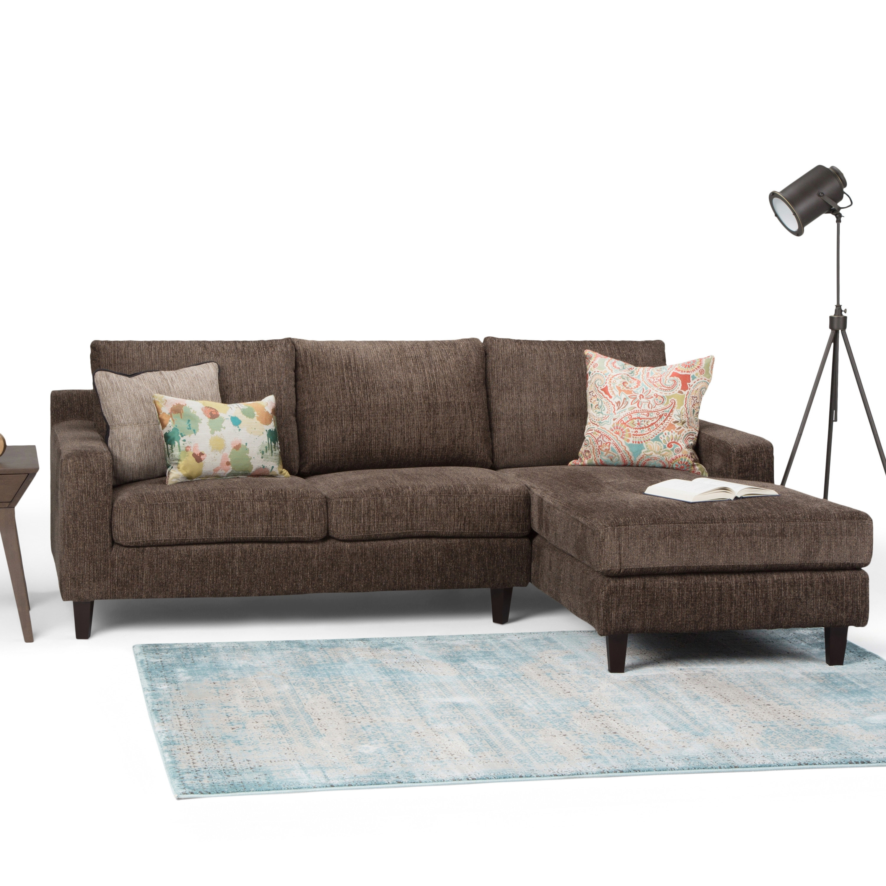 Simpli Home Marisa Sectional | Wayfair Within Marissa Ii 3 Piece Sectionals (View 2 of 25)