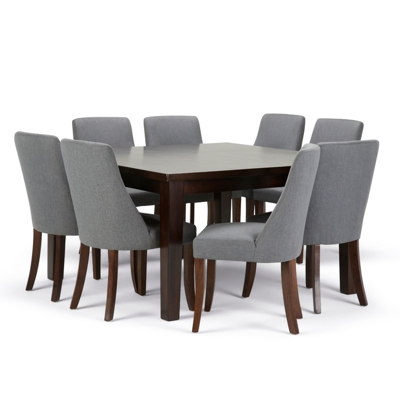 Simpli Home Walden 9 Piece Dining Set | Wayfair With Walden 9 Piece Extension Dining Sets (Image 18 of 25)