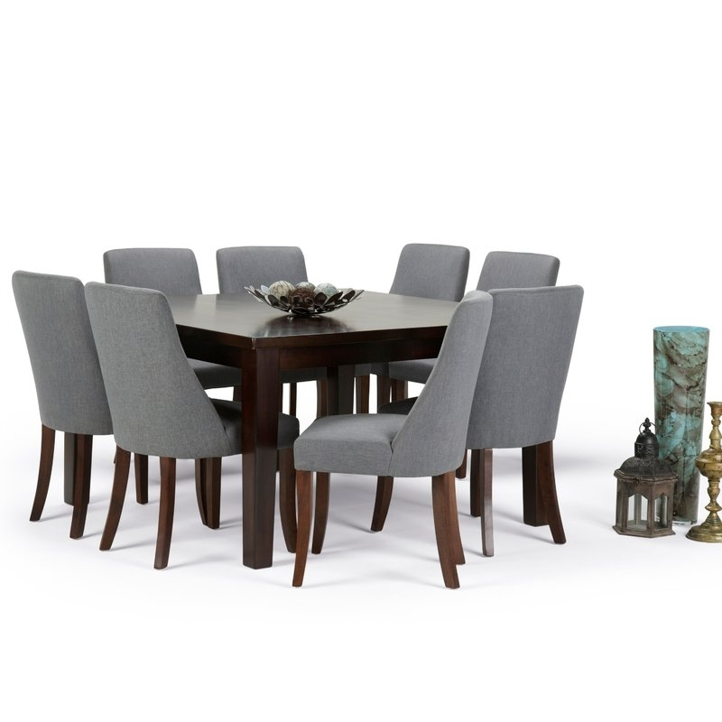 Simpli Home Walden 9 Piece Dining Set | Wayfair Within Walden 9 Piece Extension Dining Sets (View 2 of 25)