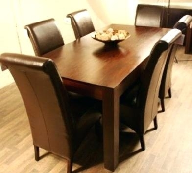 Six Chair Dining Table 2 Chair Dining Room Table – Filiformwart Intended For 6 Chairs Dining Tables (Image 24 of 25)