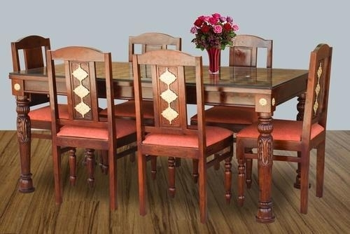 Six Chair Dining Table Set, Six Chairs Dining Table Sets For Dining Tables And Six Chairs (View 13 of 25)