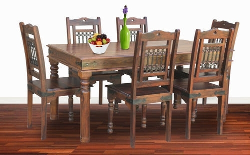 Six Chairs Dining Table Sets – Six Chair Dining Table Set Intended For Dining Tables And Six Chairs (View 20 of 25)