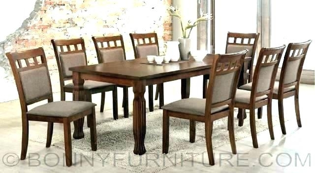 Size Of A 8 Seater Dining Table – Thomsongrandsg Regarding 8 Seater Dining Tables And Chairs (View 23 of 25)