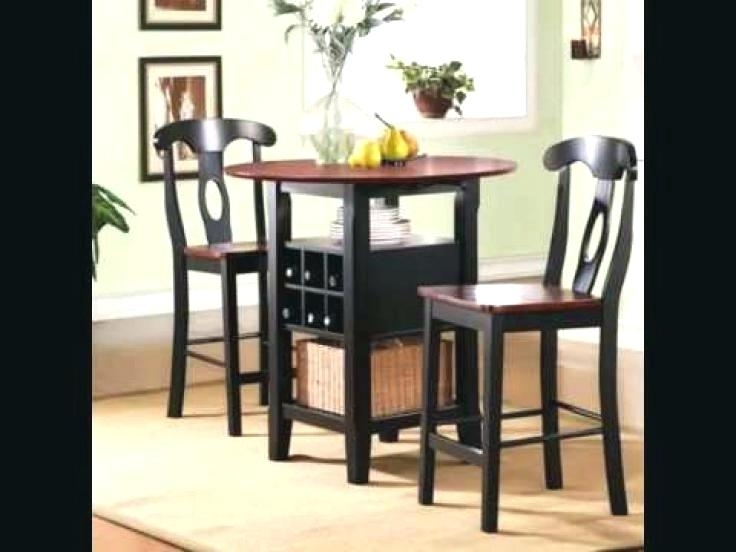 Small 2 Dining Sets Two Round Glass Set Chairs Wonderful Seat Table Throughout Two Person Dining Table Sets (View 2 of 25)