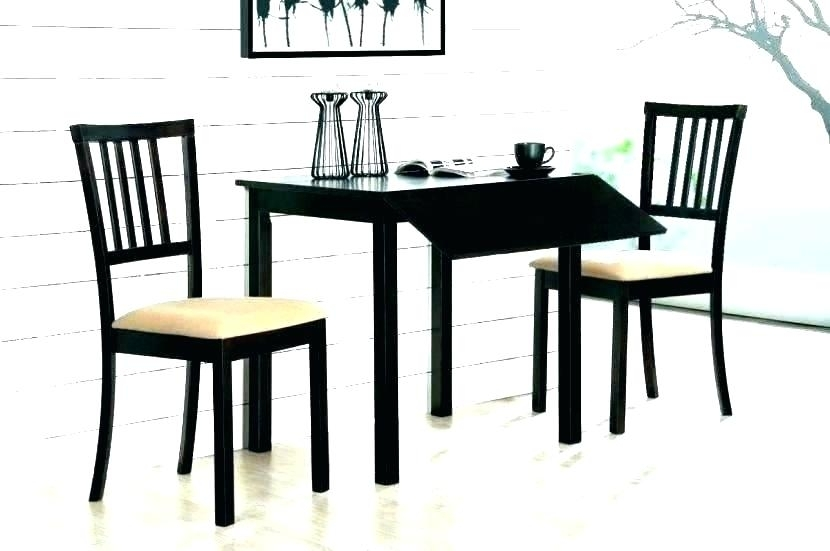 Small 2 Person Table Small Kitchen Table For 2 Small Two Person Throughout Two Person Dining Table Sets (Image 17 of 25)