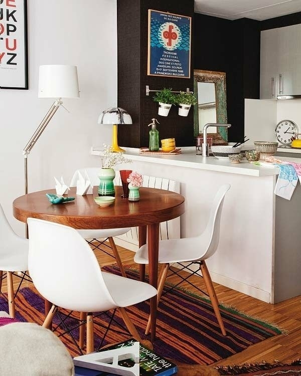 Small Apartment Dining Table Set Round Wood | Kitchen | Pinterest Pertaining To Compact Dining Room Sets (Image 21 of 25)