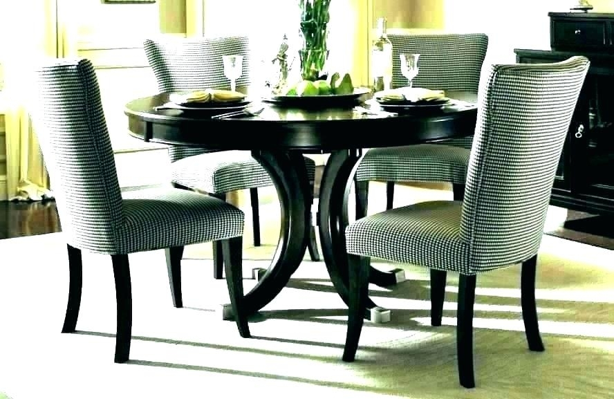 Small Black Glass Dining Table And 4 Chairs Dark Oak Argos Great Inside Oak And Glass Dining Tables Sets (View 20 of 25)