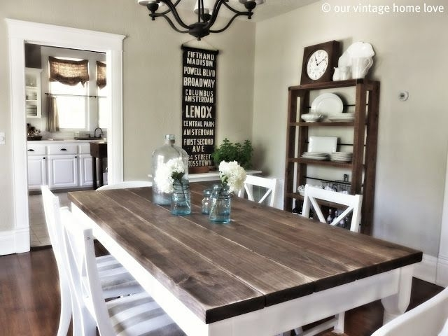 Small Country Dining Room Ideas | Modern Bedroom Ideas | Diy Home Throughout Country Dining Tables (Image 20 of 25)