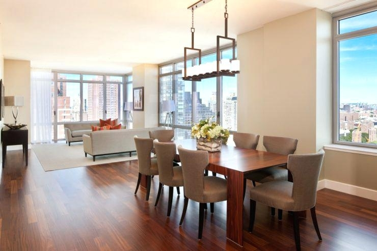 Small Dining Room Chandeliers Together With Medium Size Of Small Throughout Dining Tables Lighting (Image 24 of 25)